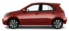 Avis Nissan Micra 4 Door Car Rental