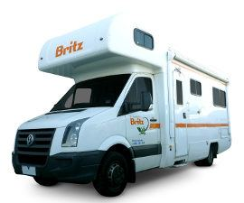 Britz 4 berth Motorhome Hire in Australia