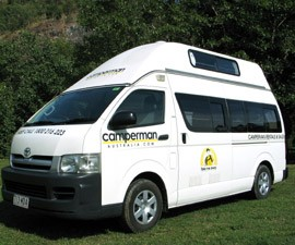 Camperman Australia 5 berth Motorhome Hire in Australia