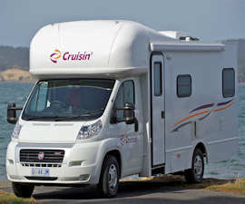 Cruisin Motorhomes 4 berth RV Hire in Australia