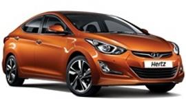 Hertz Toyota Corolla Car Rental with Manual Transmission
