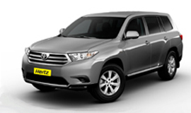 Hertz Toyota Kluger SUV Car Hire