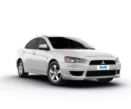 Thrifty Mitsubishi Lancer Car hire